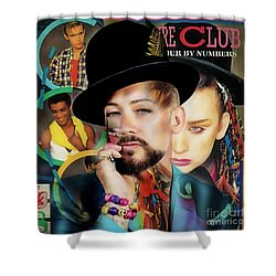Boy George Collection Shower Curtain by Marvin Blaine