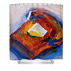 Bread And Butter Shower Curtain