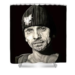 Breaking Bad Skinny Pete Shower Curtain by Fred Larucci