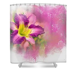 Bright Lily Shower Curtain