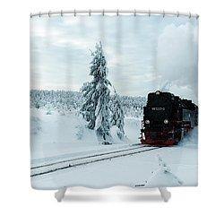 Brockenbahn, Harz Shower Curtain
