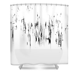 Brushstrokes Shower Curtain by Tim Good