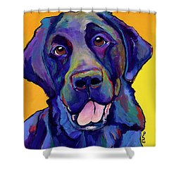 Buddy Shower Curtain by Pat Saunders-White