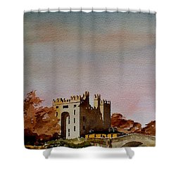 Bunratty Castle, Clare Shower Curtain