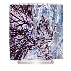 Shower Curtain featuring the photograph Burst by Jamie Lynn