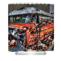Bus Ride Shower Curtain