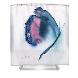 Butterfly Abstract 3 Shower Curtain by Frank Bright