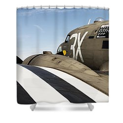 C-47  Shower Curtain
