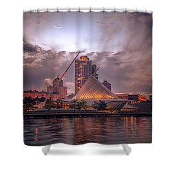Calatrava Drama Shower Curtain
