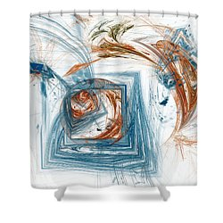 Call Of The Wilds Shower Curtain