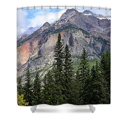 Canadian Rockies No. 2-1 Shower Curtain