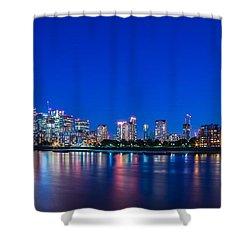 Canary Wharf 3 Shower Curtain