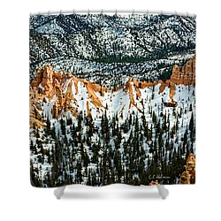 Canyon View Shower Curtain by Christopher Holmes