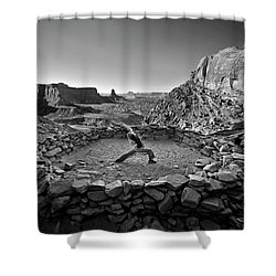 Canyonlands Kiva Shower Curtain
