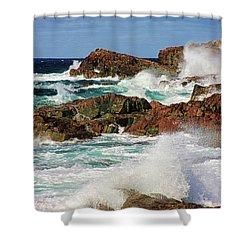 Cape Bonavista, Newfoundland Shower Curtain