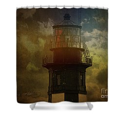 Cape Henry Lighthouse Shower Curtain by Melissa Messick
