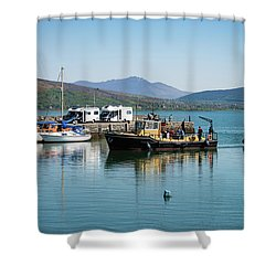 Carlingford Lough Shower Curtain