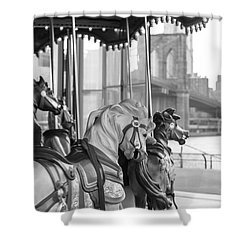 Carrousel Nyc Shower Curtain