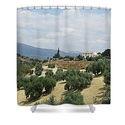 Caseria De San Jose Near Iznajar Shower Curtain