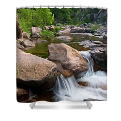 Castor River Shut-ins Shower Curtain