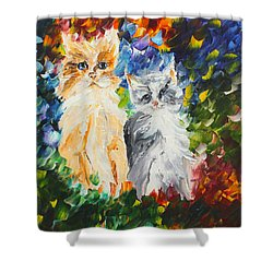 Cats Shower Curtain