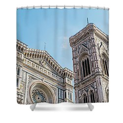 Cattedrale Di Santa Maria Del Fiore Is The Main Church Of Floren Shower Curtain