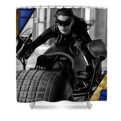 Catwoman Collection Shower Curtain