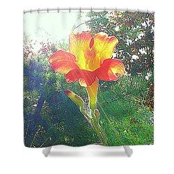 Cayuga Park Flower Shower Curtain