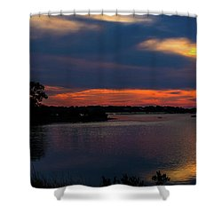 Shower Curtain featuring the photograph Ceader Key Florida  by Louis Ferreira