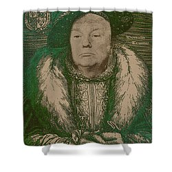 Celebrity Etchings - Donald Trump Shower Curtain