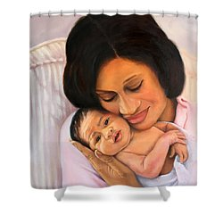 Chanelle And Kaycee Victoria Shower Curtain