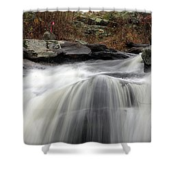 Chapman Falls 3 Shower Curtain