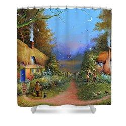 Chasing Fairies Shower Curtain