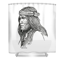 Chato Shower Curtain
