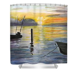 Chesapeake Sunset Shower Curtain