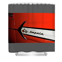 Chevy Impala Shower Curtain by Pamela Walrath