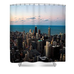 Chicago Skyline 2 Shower Curtain