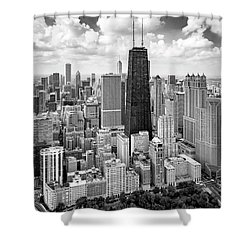 Shower Curtain featuring the photograph Chicago's Gold Coast by Adam Romanowicz