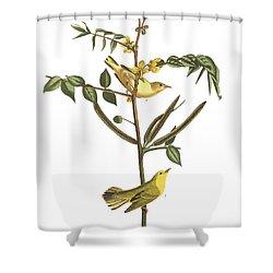 Children's Warbler Shower Curtain by John James Audubon