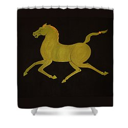 Chinese Horse #2 Shower Curtain