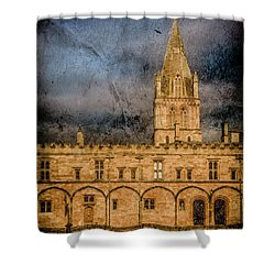 Oxford, England - Christ Church College Shower Curtain