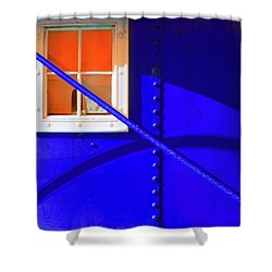 Shower Curtain featuring the photograph Chromatic by Wayne Sherriff