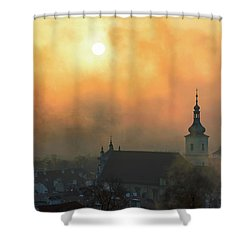 Church Of Our Lady Victorious, Prague, Czech Republic. Shower Curtain