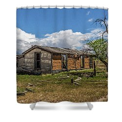 Cisco, Utah, Ghost Town Shower Curtain