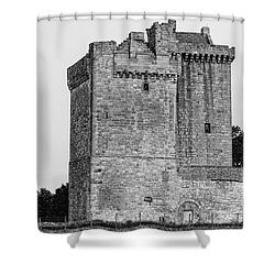 Clackmannan Tower Shower Curtain