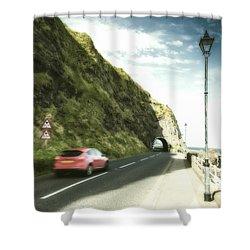 Coast Road Shower Curtain