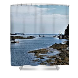 Coastal Maine Shower Curtain