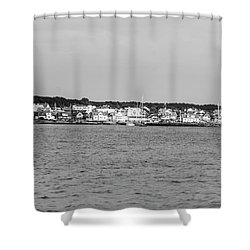 Coastline At Molle In Sweden Shower Curtain