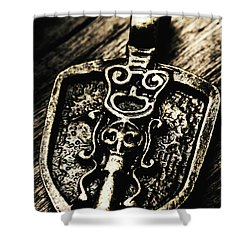 Shower Curtain featuring the photograph Coat Of Arms by Jorgo Photography - Wall Art Gallery
