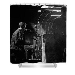 Coldplay9 Shower Curtain by Rafa Rivas